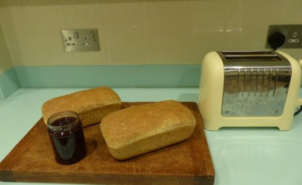 Home made bread & jam