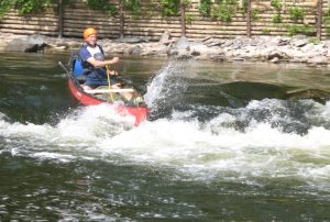 Prospector canoe River Tweed